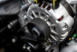 new car engine closeup - 168492700