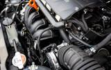 new car engine closeup - 168492737
