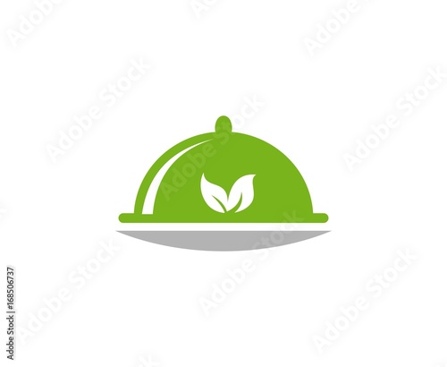 Wall mural Food logo