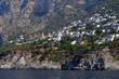 Quadro Steilküste bei Sorrento