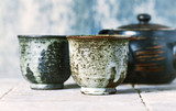 Still Life with Traditional Japanese Ceramic - 168532336