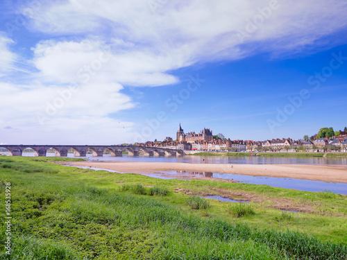 Poster Pont de Gien sur la Loire