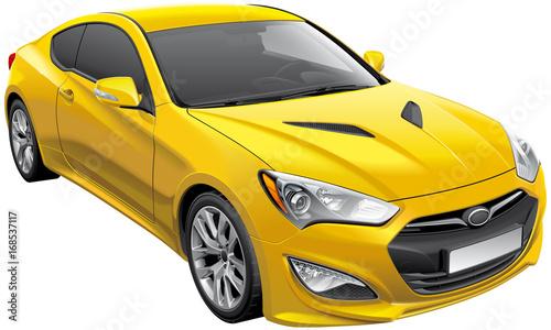Korean sports coupe - 168537117