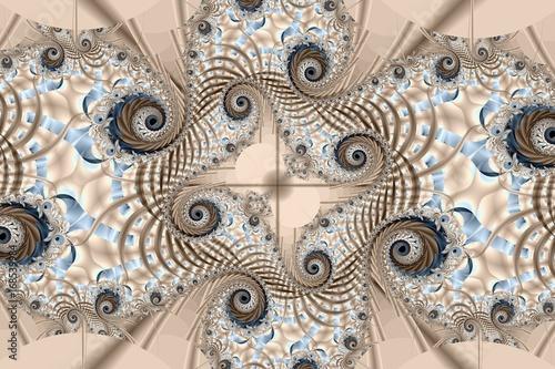 ilustracion-los-hermosos-patrones-fractales-de-lineas-de-diferentes
