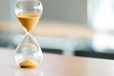 Sand clock, business time management concept - 168564141