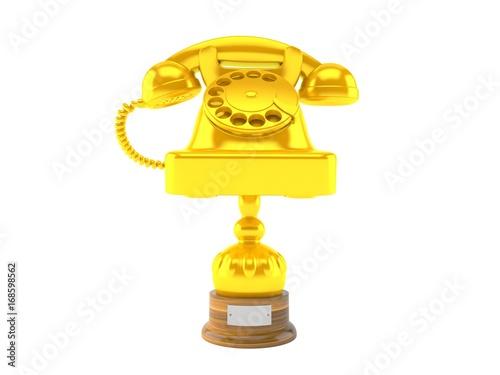 Foto op Canvas UFO Telephone trophy
