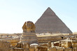 Sphinx and Pyramid Egypt