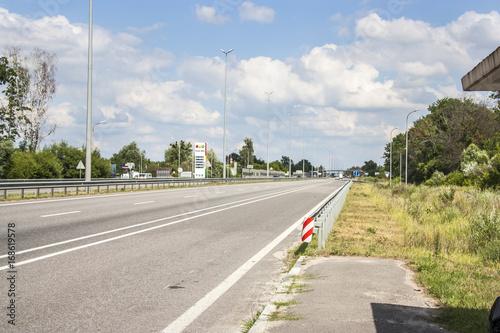 Fotobehang Kiev Highway