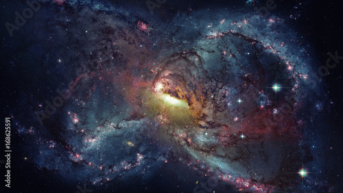 Plexiglas Galaxy and nebula. Space background. Elements of this Image Furnished by NASA