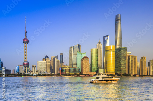 Foto op Aluminium Toronto Architectural scenery and skyline of Shanghai
