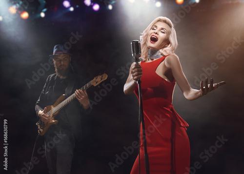 The jazz singer. Poster