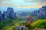 Meteora is included in the UNESCO World Heritage Site. Meteora is a big monastery complex including nine reserved monastery built on top of difficult high cliffs resembling stone pillars.