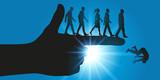pouvoir - obéissance - montrer du doigt - autorité - direction - domination - orienter - 168635381