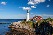 This image was captured at the famous Cape Elizabeth Lighthouse in Cape Elizabeth, Maine.