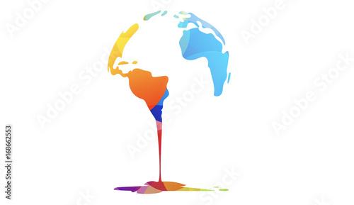 mondo di colori, colori, arte