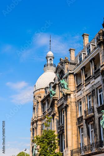 Keuken foto achterwand Antwerpen Architecture of the Old Town of Antwerpen, Belgium