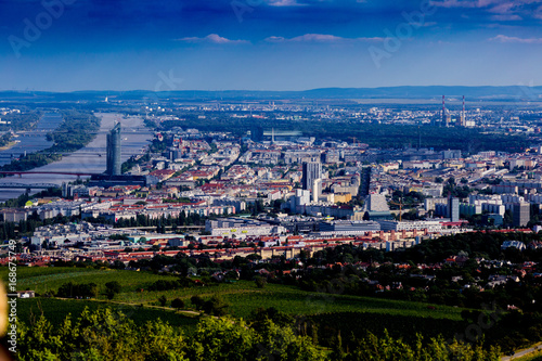 Wien vom Kahlenberg