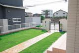 庭の芝生完成 - 168682110