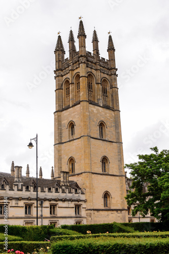 Foto op Canvas Texas Chapel of Merton College, Oxford, England. Oxford is known as the home of the University of Oxford