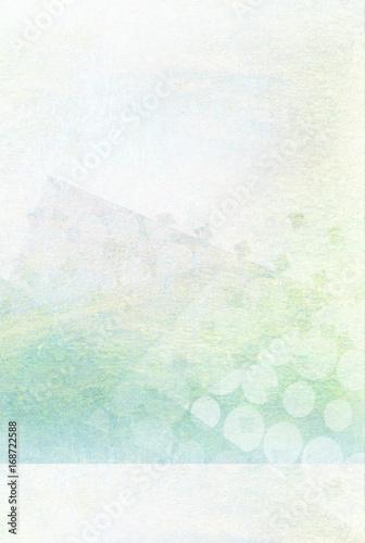 heller türkiser Hintergrund - Grafik Design плакат