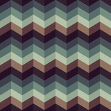 Rhombus vintage color  texture, seamless vector