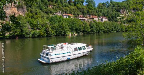 Foto Murales Tourisme fluvial