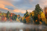 Lake Autumn Foliage - 168746180
