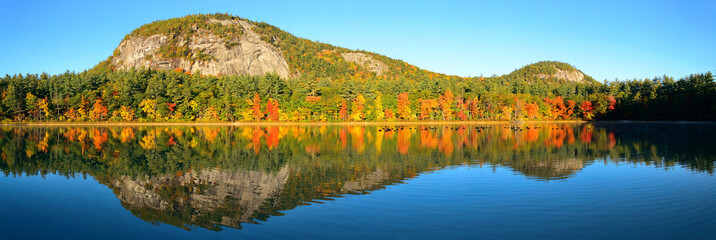Lake and Autumn foliage