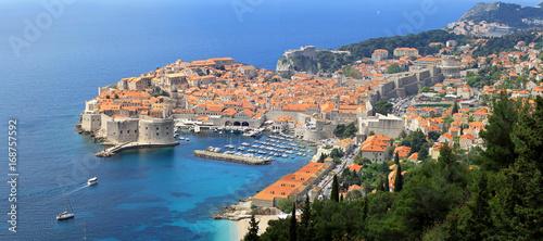 Aerial Dubrovnik Croatia