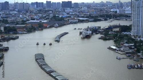 Chao Phraya River, Bangkok City, Thailand © tam