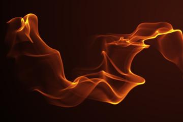Abstract wave golden shape background 3d illustration