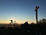 Fototapety Panorama Colli Berici Sossano Montain Bike MTB escursione crocefisso croce