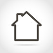 House icon. Vector illustration - 168788347