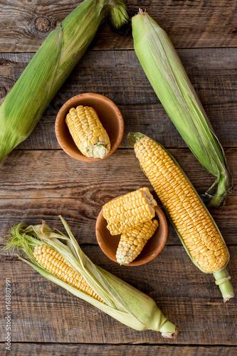 Organic farm food Poster