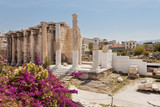Hadrian's Library in Athens Greece  - 168810912