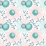 Vector seamless floral pattern - 168814991