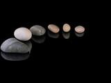 Zen stones rocks spa in stack mindfulness   - 168834783