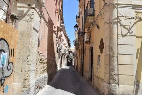 Fotobehang Smalle straatjes street