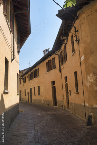 Fotobehang Milan Inzago (Milan, Lombardy, Italy): old street