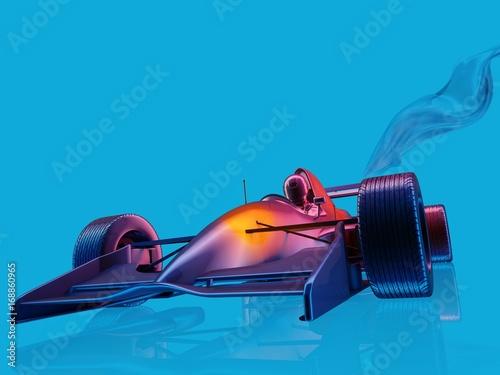 Fotobehang F1 Racing cars