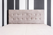 Bed with tufted headboard - 168884935