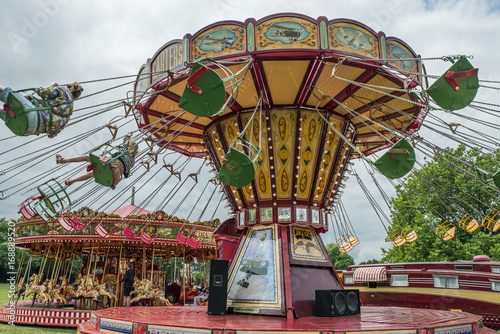 Keuken foto achterwand Amusementspark Parco di divertimento
