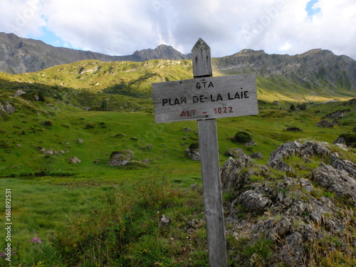 rando du plan de la Lai à la grande Berge Poster