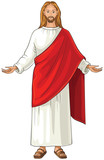 Jesus Christ  also referred to as Jesus of Nazareth. The Son of God and symbol of Christianity