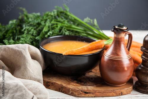 Carrot cream soup Poster