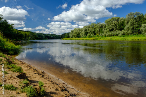 Gauja River in Latvia