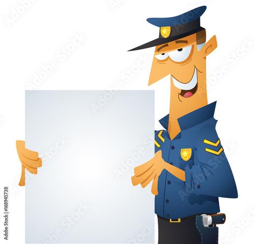 Policeman Signage
