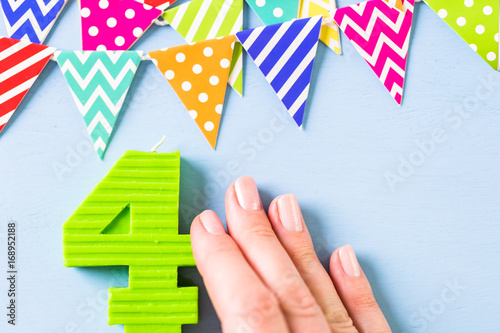 Birthday party decorations Poster