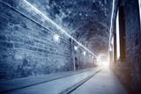 Bright light tunnel