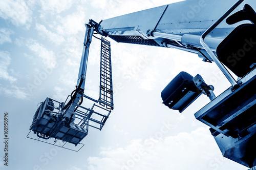 Ladder fire engine